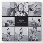 Family Photomontage Personalized Canvas Print - 20