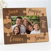 Together We Make A Family Engraved Picture Frame- 4 x 6 - 16685-S