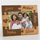 Together We Make A Family Engraved Picture Frame- 5 x 7 - 16685-M