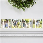 HOME Personalized Photo Shelf Blocks- Set of 4 - 16687