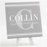 My Name Means... Personalized Canvas For Him- 8
