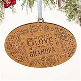 Reasons Why For Him Personalized Wood Ornament - 16690