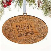 Reasons Why For Her Personalized Wood Ornament - 16691