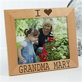 I/We Love Her Personalized Picture Frame- 8 x 10 - 16693-L