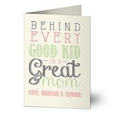 Loving Words To Her Personalized Greeting Card - 16694
