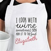 Sassy Cook Personalized Apron - 16714-A