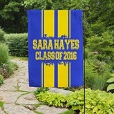 School Spirit! Personalized Garden Flag - 16720
