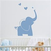Baby Zoo Animals Personalized Vinyl Wall Art - 16734