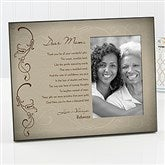 Dear Mom Personalized Picture Frame - 16752