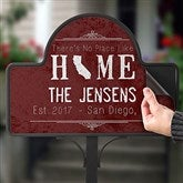 State Of Love Personalized Magnetic Garden Sign - 16756-M