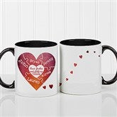 We Love You To Pieces Personalized Photo Coffee Mug- 11oz. - 16762-B