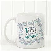 Reasons Why For Her Personalized Photo Coffee Mug- 11oz. - 16763-S