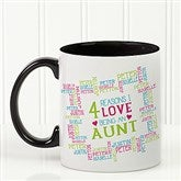 Reasons Why For Her Personalized Photo Coffee Mug- 11oz. - 16763-B