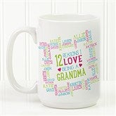 Reasons Why For Her Personalized Photo Coffee Mug- 15oz. - 16763-L