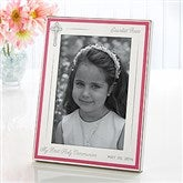 First Communion Personalized Engraved Frame