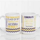 School Memories Graduation Personalized Coffee Mug 15 oz.- White - 16775-L