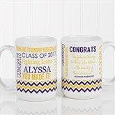 School Memories Graduation Personalized Coffee Mug 15 oz.- White - 16775-L