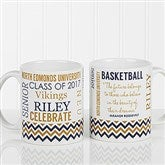 School Memories Graduation Personalized Coffee Mug 11 oz.- White - 16775-W