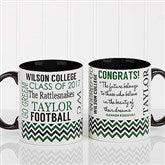 School Memories Graduation Personalized Coffee Mug 11oz. - Black - 16775-B