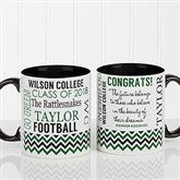 School Memories Graduation Personalized Coffee Mug 11oz. - Black - 16775-B