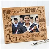 Graduation Memories Personalized Picture Frame- 4 x 6 - 16777