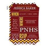 School Memories Personalized Graduation Invitations - 16790