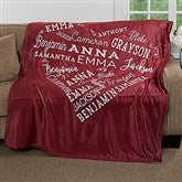 Close To Her Heart Personalized 50x60 Fleece Blanket - 16802