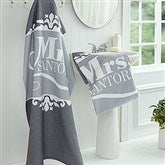 The Happy Couple Personalized Bath Towel - 16808