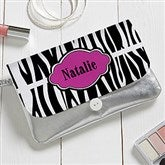 Animal Print Personalized Wristlet - 16809