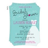 The Dress Bridal Shower Personalized Invitations - 16824