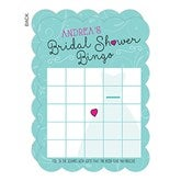 The Dress Bridal Shower Personalized Bingo Cards - 16832
