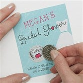 The Dress Bridal Shower Scratch Off Game - 16833