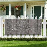 Rustic Bridal Shower Personalized Banner - 16837