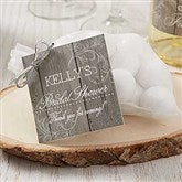 Rustic Bridal Shower Personalized Gift Tags - 16840