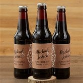 Rustic Chic Wedding  Personalized Beer Bottle Labels - 16849