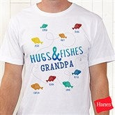 Hugs & Fishes Personalized Hanes® T-Shirt - 16862-T