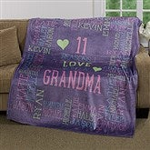 Reasons Why For Her Personalized 60x80 Fleece Blanket - 16864-L