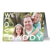 Loving Him Personalized Greeting Card - 16866