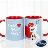 Disney® Olaf™ Personalized Coffee Mug 11oz.- Red - 16868-R