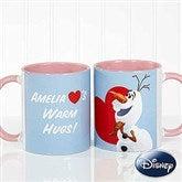 Disney® Olaf™ Personalized Coffee Mug 11oz.- Pink - 16868-P