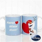 Disney® Olaf™ Personalized Coffee Mug 11 oz.- White - 16868-W
