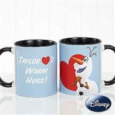 Disney® Olaf™ Personalized Coffee Mug 11oz.- Black - 16868-B