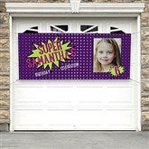 Super Hero Birthday Personalized Photo Banner - 16875
