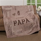 Reasons Why For Him Personalized 60x80 Fleece Blanket - 16876-L
