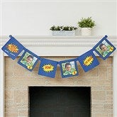 Super Hero Birthday Personalized Photo Paper Banner - 16877