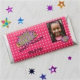 Super Hero Personalized Candy Bar Wrappers - 16878