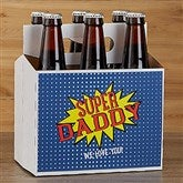 Super Hero Personalized Beer Bottle Carrier - 16879-C
