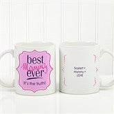 Best. Mom. Ever. Personalized Coffee Mug 11oz.- White - 16916-B