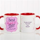 Best. Mom. Ever. Personalized Coffee Mug 11oz.- Red - 16916-R