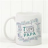 Reasons Why For Him Personalized Coffee Mug 11 oz.- White - 16921-W